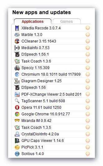 список портативных программ