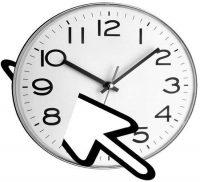 Mouse Clock — часы для курсора